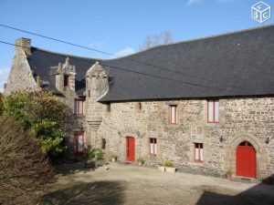 Manor house for sale in Brittany France